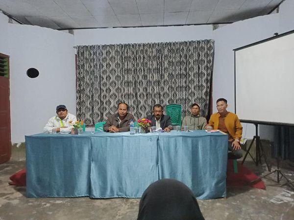 Musyawarah Pemuda Dalam rangka kegiatan pemuda Nagari Simpang Sugiran
